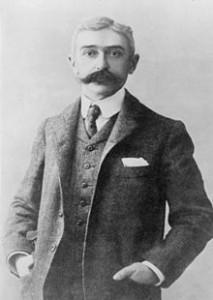 近代オリンピックの父クーベルタン伯爵